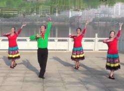 劉峰廣場舞我想唱歌我就唱團隊舞蹈視頻 湖北大冶劉峰明星二隊廣場舞
