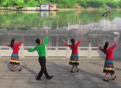 我想唱歌我就唱劉峰廣場舞背面演示 演唱:李雨兒