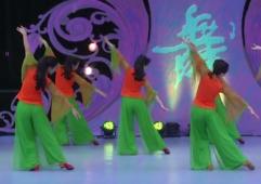 情如花艺佳怡广场舞背面舞蹈视频