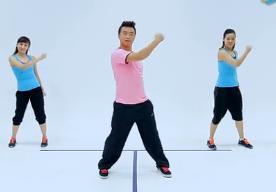 王廣成廣場舞天下的姐妹 三人組合 舞蹈視頻MP4下載