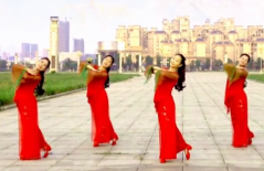 梅梅翠翠广场舞醉赏红尘正面背面演示 司徒兰芳《醉赏红尘》歌词MP3