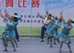 周思萍广场舞健身操《羌魂》 江津区广场舞比赛第一名