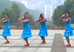 立华广场舞青春的时光正背面演示教学 山东兖矿舞之缘广场舞青春的时光