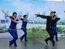 阿中中廣場舞情深意長正反面含教學 中三舞蹈