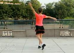 西湖莉莉广场舞今天是你的生日背面教学示范