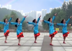 立华广场舞科尔沁我美丽的家乡正反面含教学 山东兖矿舞之缘广场舞