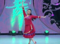 艺紫宁广场舞背上行囊去西藏 个人演示 藏舞风