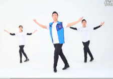 王广成广场舞草原情怀演示教学 国家体育总局社体重心推广套路
