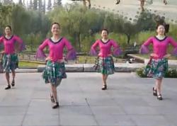 紫紫雨广场舞娜奴娃情歌 応子老师原创娜鲁湾情歌 民族特色广场舞