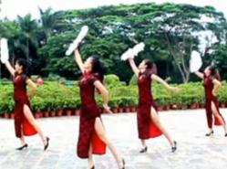 凤凰香香广场舞夜上海正面背面演示教学