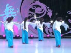 山東兗礦舞之緣廣場舞那一片思念背面演示 立華廣場舞