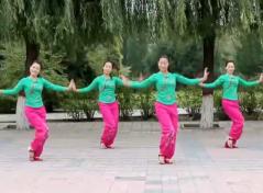 云裳广场舞快乐我和你正反面含教学 简单欢快的中老年广场舞健身舞