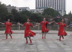 西湖莉莉广场舞天下朋友含教学分解 扎西拉姆《天下朋友》歌词MP3下载