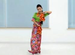 藝莞兒廣場舞夢中的蘭花花正反面演示教學 民歌風 演唱:劉建東