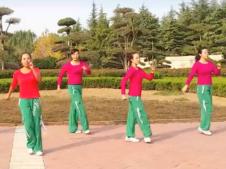 舞动旋律2007健身队广场舞火焰48步正反面含教学 步子舞