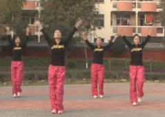 龍都舞動晨韻有氧健身操向往神鷹含分解教學 藏族舞蹈風格