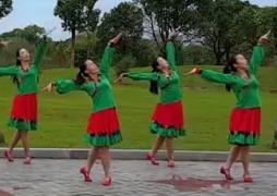 江西娇娇飞雪广场舞踏花归去马蹄香正面演示 蒙古舞