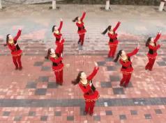 云裳广场舞火火的情歌队形表演 含慢动作队形教学