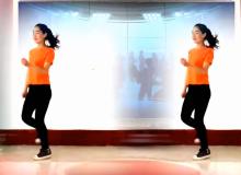 焦佐白雪广场舞美丽的仙女湾 鬼步弹跳32步 鬼步舞