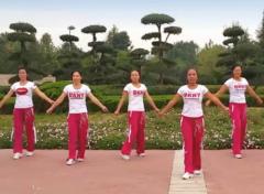 舞动旋律2007健身队广场舞长笛正反面含教学 健身操