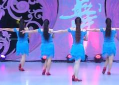 武林盟主艺紫宁广场舞背面舞蹈视频
