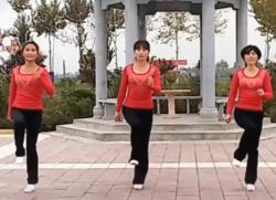 鬼步舞我是美丽卓玛正反面含分解 陕西好日子健身队广场舞鬼步舞18步