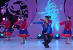 艺子军广场舞酒歌团队舞蹈视频 蒙古舞