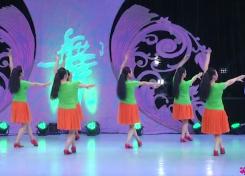 等你广场舞背面演示 北京加州飞龙广场舞等你