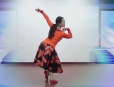 朱晗応子广场舞你的独舞教学 応子王梅广场舞你的独舞正面背面演示