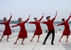 梅梅翠翠廣場舞春風頌 阿中中浙江梅錦江西梅梅翠翠廣場舞春風頌正面背面