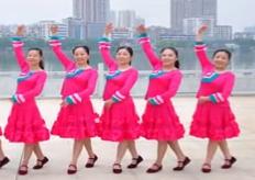 劉峰廣場舞相聚中華正面背面演示教學 王麗達《相聚中華》歌詞MP3下載