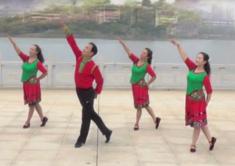 劉峰廣場舞請你走進我的家正背面含教學 湖北大冶劉峰明星二隊廣場舞