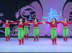 立華廣場舞火紅的日子團隊演示 山東兗礦舞之緣立華明星隊
