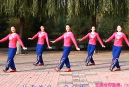 云裳广场舞爱情天堂正面背面演示教学 大方好看的中老年广场舞