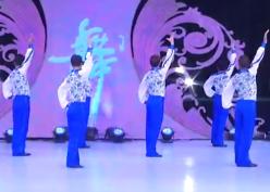 好男儿广场舞背面演示 中国男子帅虎队广场舞好男儿