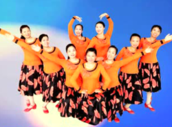 応子王梅廣場舞你的獨舞 舞動時代南昌明星隊廣場舞你的獨舞