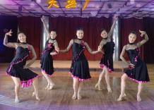 天姿广场舞诱惑正反面含分解 时尚动感的中老年广场舞