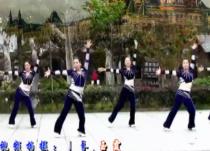 刘荣广场舞舞动江苏正面背面演示教学