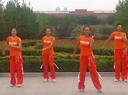 2016年新舞-舞动旋律2007广场舞我的好兄弟含教学 步子舞