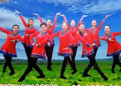 馨梅广场舞为乌兰察布喝彩正反面演示教学 王梅广场舞为乌兰察布喝彩