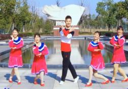 楠楠广场舞闻鸡起舞正面背面演示教学 2017年新舞贺岁俏皮舞
