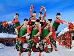 王梅广场舞醉美在东北正面背面演示教学 2017年最新广场舞