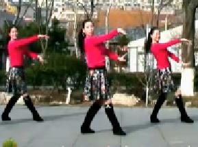 刘荣广场舞《马背上的萨日朗》原创附教学