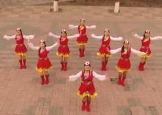 云裳广场舞吉祥安康8人队形表演 含航拍动作分解