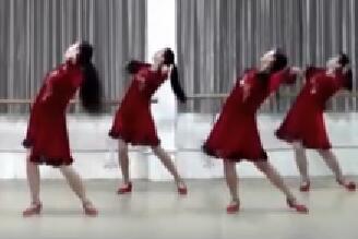 刘荣广场舞《爱如沙》原创恰恰舞