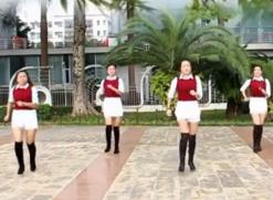凤凰香香广场舞站台正反面含教学 杨坤《站台》歌词MP3下载