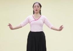 維族舞課堂(四)《維族舞的步伐