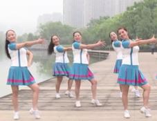 雨竺广场舞么么哒团队演示 五朵金花之雨竺广场舞么么哒 陈娇/陈咏《么么哒》