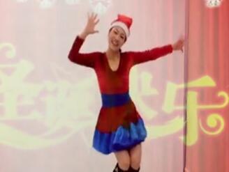 馨梅广场舞(王梅)圣诞狂欢曲