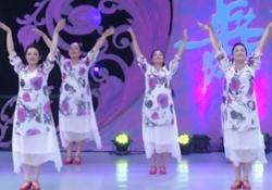 北京木子广场舞茉莉花又开团队舞蹈视频